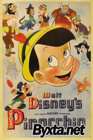 Пиноккио (1940) BDRip