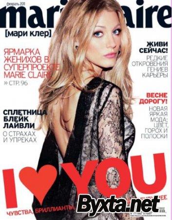 Marie Claire №2 Россия (февраль) (2011) PDF