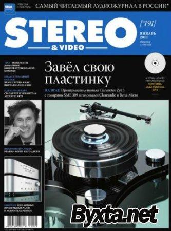 Stereo & Video №1 (январь) (2011) PDF