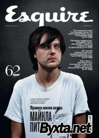 Esquire №12-1 (декабрь-январь) (2010-2011) PDF