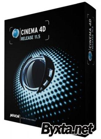 Maxon Cinema 4D R11.5 (2009) РС