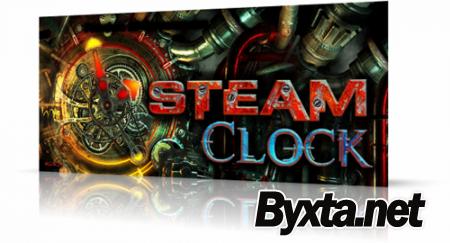 Steam Clock 3D Screensaver (2011) РС