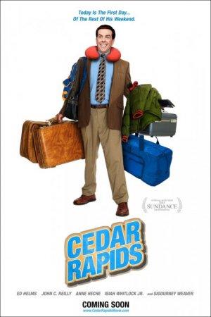 Совсем не бабник / Cedar Rapids [2011 / BDRip]