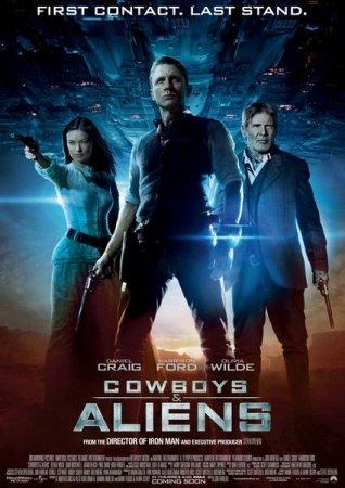 Ковбои против пришельцев / Cowboys & Aliens [2011 / TELESYNC (TS)]