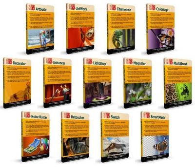 Полная сборка плагинов AKVIS для Photoshop + видеоуроки