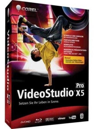 Corel VideoStudio Pro X5 15.0.0.258 (2012) PC
