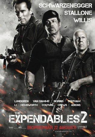 Неудержимые 2 / The Expendables 2 (2012) TS